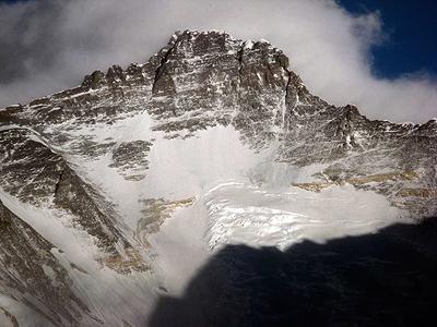 Lhotse od zachodu (fot. arch. Kinga Baranowska)