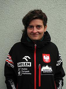Agnieszka Bielecka (fot. Polska Wyprawa Zimowa na GI)