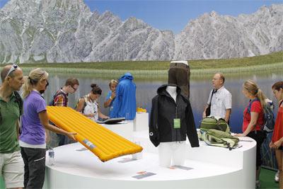 Wystawa OutDoor Industry Award 2010 (fot. Messe Friedrichshafen)
