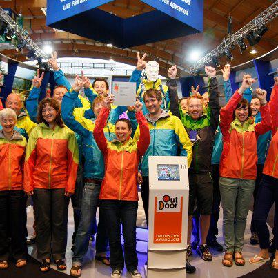 Zespół Berghausa na targach OutDoor 2012 (fot. Berghaus)