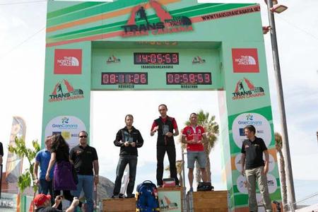 Trans Gran Canaria 2013 - Marcin Świerc zwycięzcą (fot. organizatorzy Trans Gran Canaria)