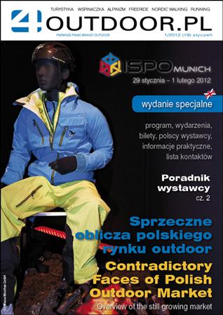 Najnowszy numer magazynu 4outdoor.pl – edycja ISPO MUNICH