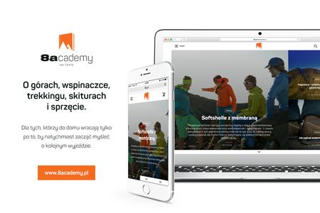 8academy.pl – nowy projekt firmy Snap Outdoor