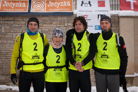 Zespół Salewa TRAILteam podczas Mistrzostw Europy w Adventure Racing (fot. Michał Unolt)