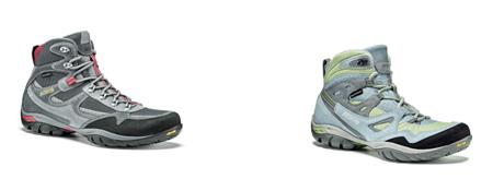 Asolo, modele butów Natural Shape