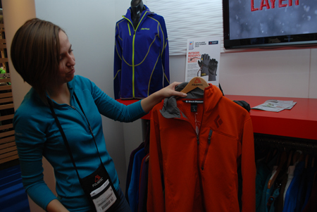 ISPO MUNICH 2013: bluza marki Black Diamond wykonana z dzianiny Polartec® (fot. 4outdoor)