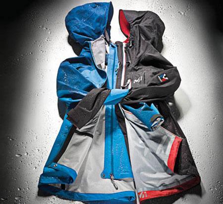 Rab Stretch Neo Jacket i Millet Trilogy Limited GTX (fot. www.popsci.com)