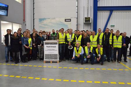 Centrum Dystrybucyjne Thule Group w Polsce - otwarcie (fot. Thule)