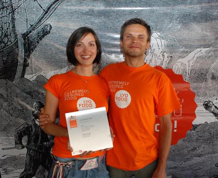 Wioletta i Przemek z firmy LYO FOOD (fot. 4outdoor)