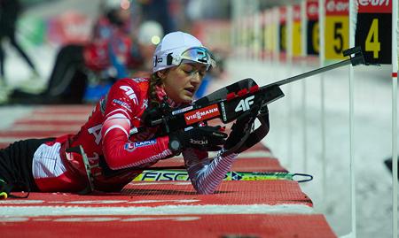 Monika Hojnisz (fot. Polski Związek Biathlonu)