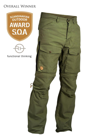 Fjällräven, spodnie Gaiter Trouser No. 1
