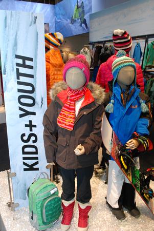 Kolekcja Kids i Youth marki Jack Wolfskin na targach ISPO 2013 (fot. 4outdoor)