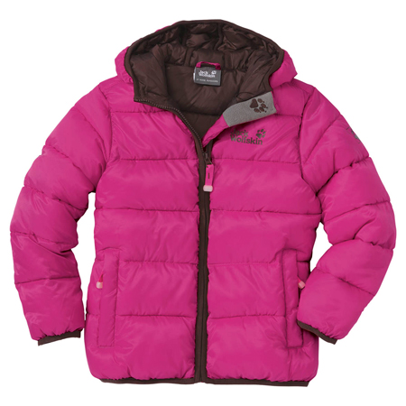 Jack Wolfskin, kurtka Kids Hooded Icecamp Jacket
