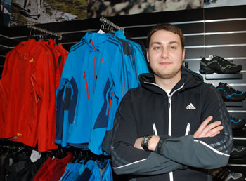 Łukasz Palczak - Brand Activation Manager w adidas Poland Sp. z o.o (fot. 4outdoor.pl)