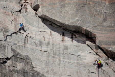 Team The North Face w Perfection Valley (fot. The North Face/ Matteo Mocelli)