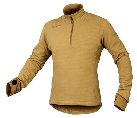 NFM Garm, koszulka Zip Neck FR