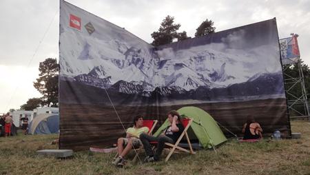 Namiot pokazowy