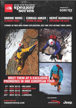 Odkryj fascynujący świat alpinizmu z The North Face Speaker Series 2012