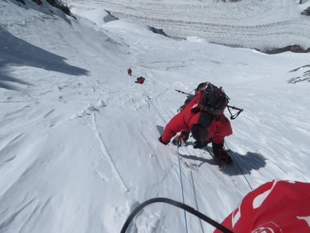 Wyprawa na Broad Peak: pod przełęczą