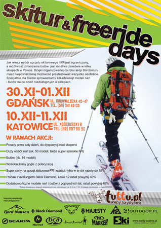 Dni Skitour i Freeride 2012 w sklepach Tuttu