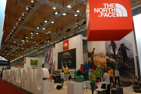 Stoisko marki The North Face na targach OutDoor 2013 (fot. 4outdoor)