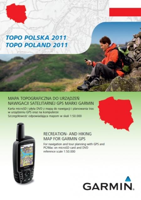 Garmin - mapa TOPO Polska 2011