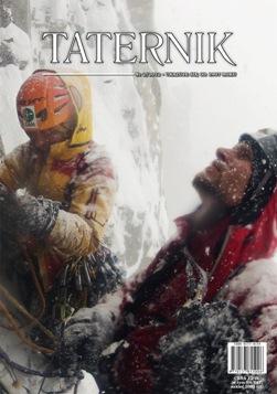 Taternik, 2/2012. Na okładce: Marek Raganowicz i Marcin Tomaszewski podczas wspinaczki na Ziemi Baffina(fot. Marcin Tomaszewski)
