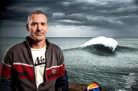Garrett McNamara, surfer i członek Thule Crew