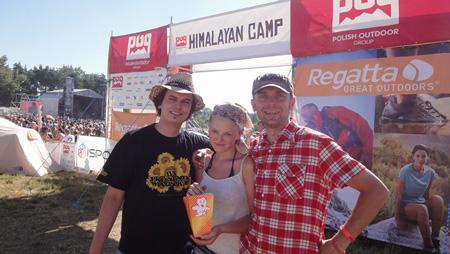 Uczestnicy Himalayan Camp 2013