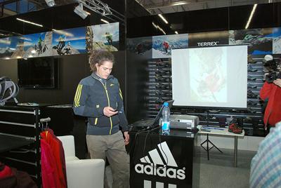 Alex Luger, targi Kielce Sport-Zima 2011