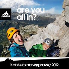 """Konkurs na najlepszą wyprawę 2012  """"are you all in?"""""""