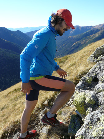 Gale Force Jacket podczas biegów po Tatrach (fot. 4outdoor.pl)