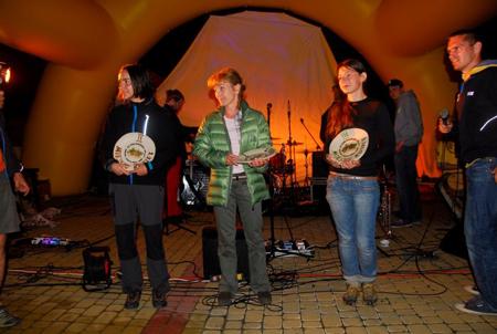 Bieg Rzeźnika 2012 - zwyciężczynie (fot. Monika Strojny)