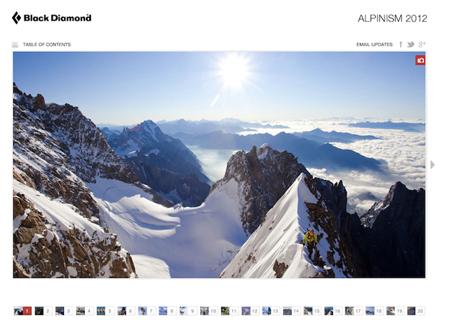 Black Diamond, katalog Alpinism 2012