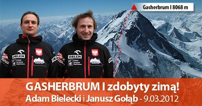 Gasherbrum I – spotkanie z Adamem Bieleckim