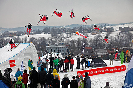 The North Face Polish Freeskiing Open 2010, Big Air