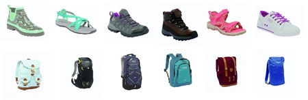 Regatta, buty i plecaki