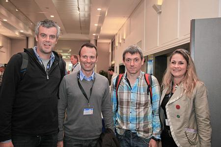 European Outdoor Forum: Thibaut Cornet, Eider, Sylvain Noailly, Rossignol Group, Lionnel Ducruet, Eid(fot. ©jmfavre/wooloomooloo)