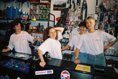 Ekipa z Bogusławskiego - rok 1997 (fot. Skalnik)