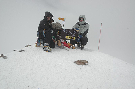 UP Tatra Trade Elbrus Ski, szczyt