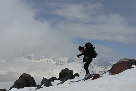 UP Tatra Trade Elbrus Ski, zjazd