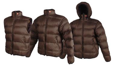 Pajak Sport, sweter puchowy Eskimo - modułowość