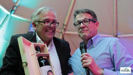 European Outdoor Forum 2012 - Rolf Schmid i Heiner Oberrauch  (fot. Jean-Marc Favre)