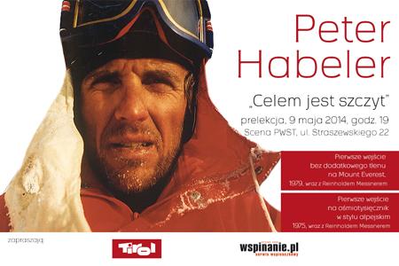 """Peter Habeler w Krakowie – """"Celem jest szczyt"""""""