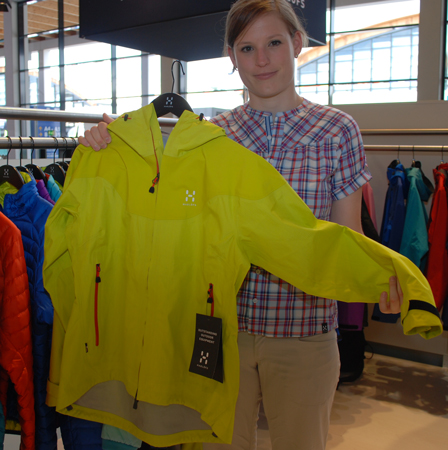 OutDoor Show 2012 - Haglofs, kurtka Spire Jacket (fot. 4outdoor.pl)