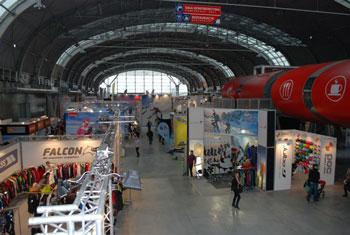 Targi Kielce Sport-Zima 2011, stoiska w nowej hali E (fot. 4outdoor.pl)