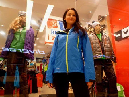 Kurtka Bushido w sklepie HiMountain (fot. arch. Marcin Tomaszewski)