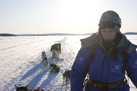 Inarijarvi Expedition 2010, Daria Nowakowska