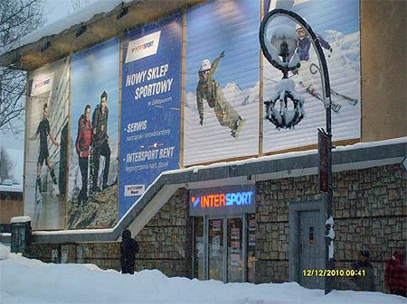 Intersport, sklep w Zakopanym