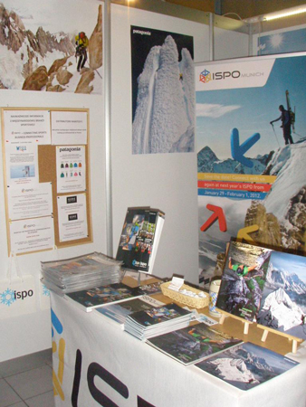 Stoisko ISPO Munich na kiermaszu 9. KFG (fot. ispo)